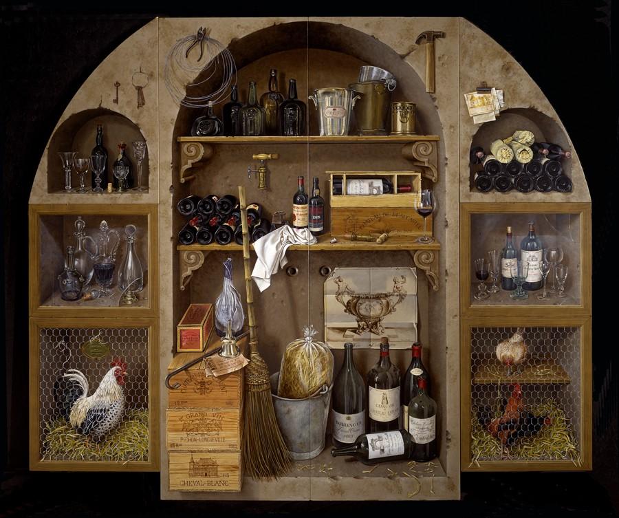 kitchen pictures for walls backsplash designs day 66: trompe l'oeil — mjg interiors, manchester, vermont ...