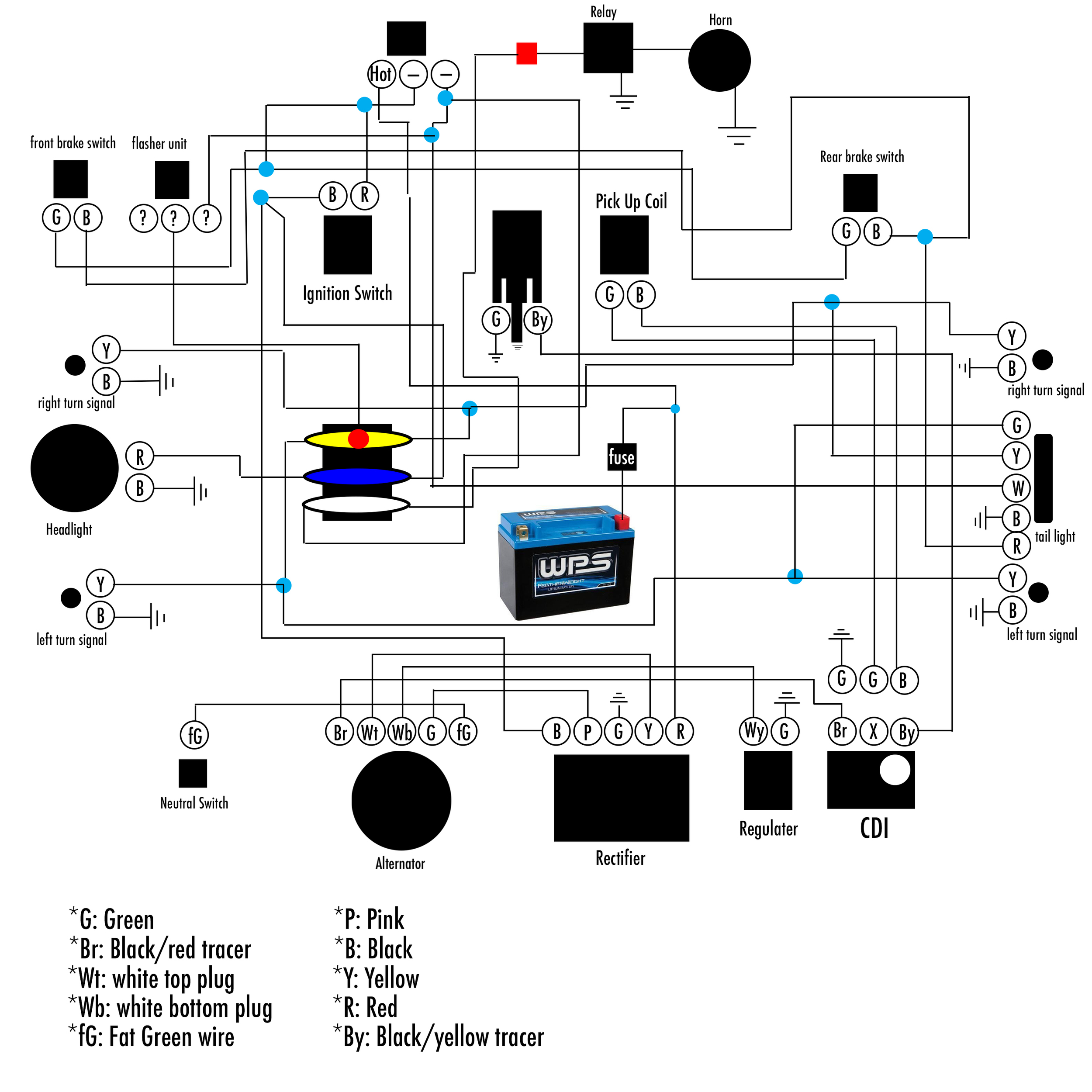 medium resolution of honda xl600 r wiring diagram