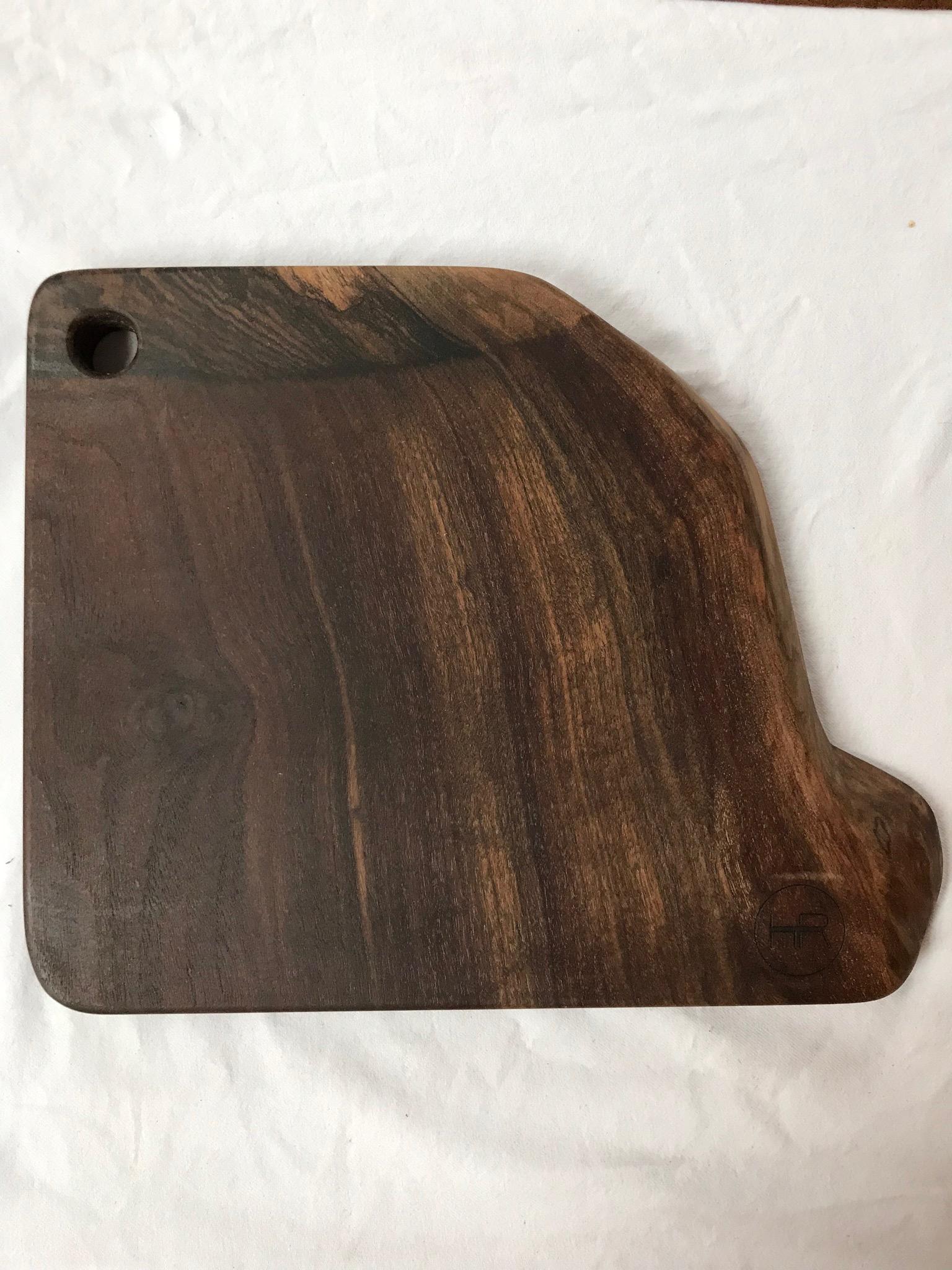 kitchen cutting board aprons hardwood reclamation custom boards walnut live edge serving