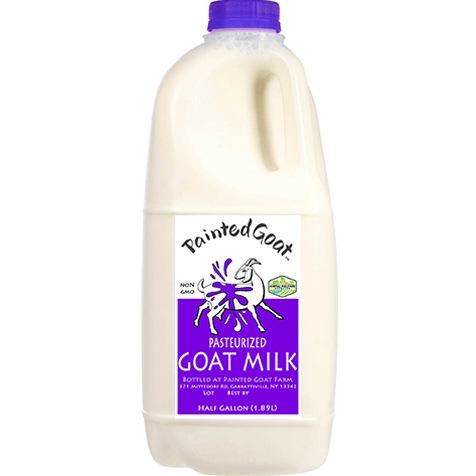 grass fed goat milk