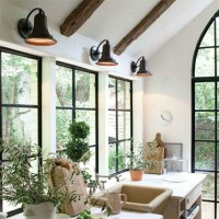 TREND: Industrial Wall Sconces Light Your Shelves