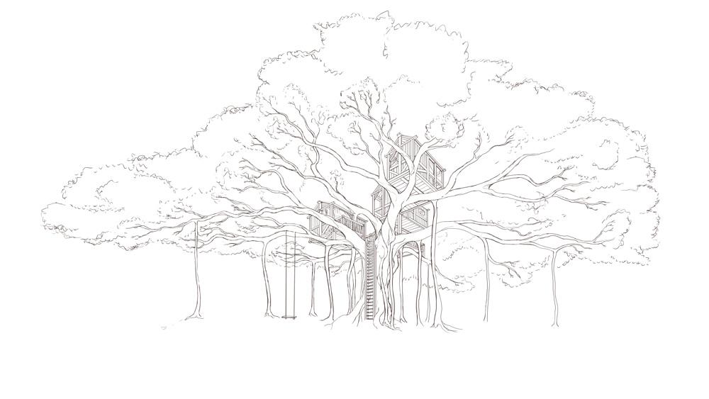Banyan Treehouse Concept — Naomi VanDoren