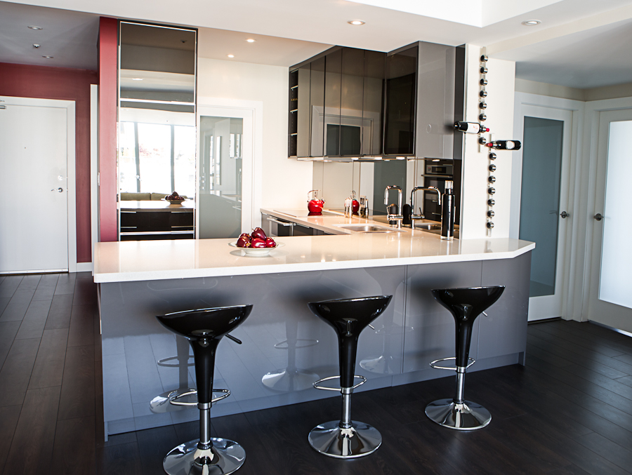 renovated kitchen ideas ikea island for sale full condo renovation — level one construction- vancouver ...