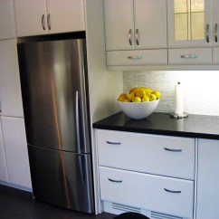 Kitchen Microwave Cabinet Remodeling Tips Art-deco — Mei & Bath