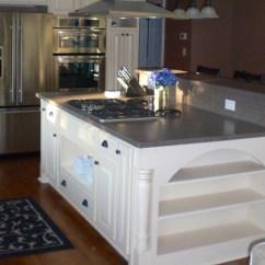 Custom Kitchen Islands Menu Chalkboard Bull Restoration Island Designs Examples