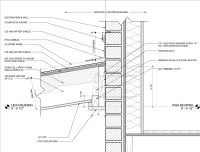 Roof Wall Detail & Roof To Wall Detail Sc 1 St Archinect