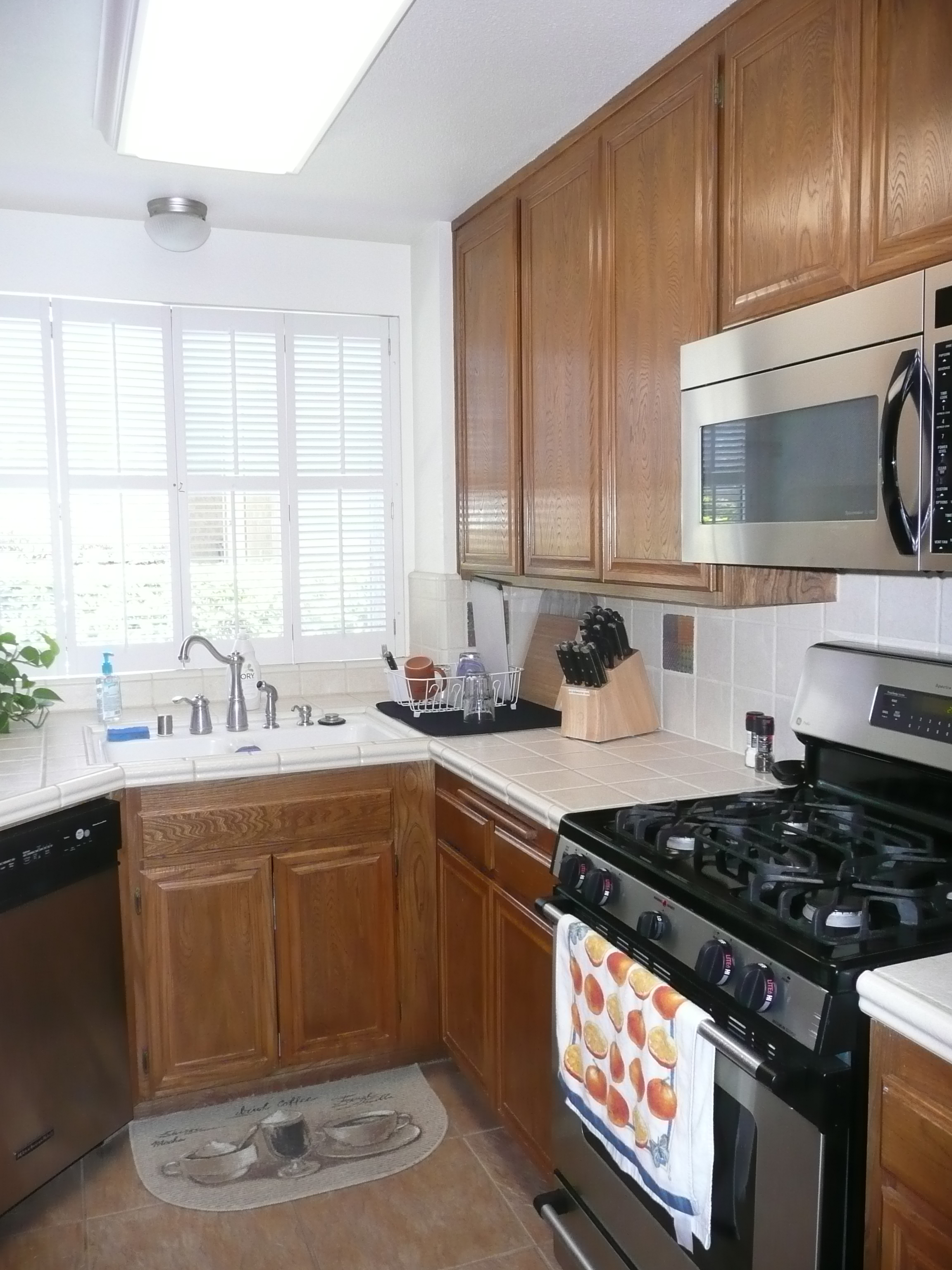 kitchen contractor ceramic cabinet knobs nipomo ca remoding before photos