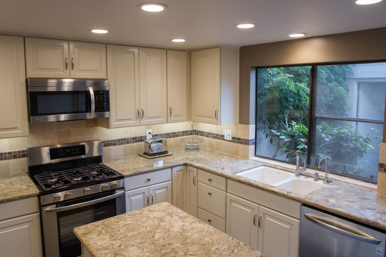 """repainting kitchen cabinets outdoor oven remodeling: adding functional """"wow factor"""""""
