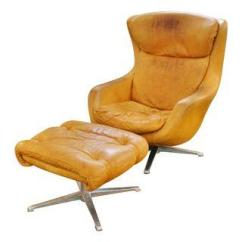 Mid Century Egg Chair Teen Desk Chairs Overman And Ottoman Jackson Kline