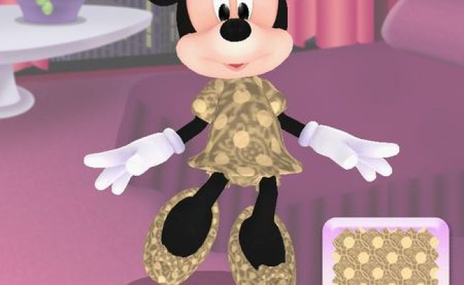 Minnie Fashion Tour Hd Is A Dress Up Game For Little