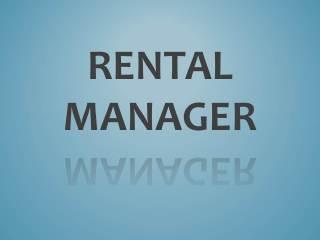 Image result for Rental Manager