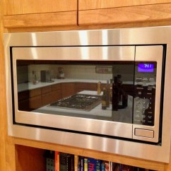 Kitchen Aid Microwaves Unfinished Table Microwave Photos — Trimkits Usa