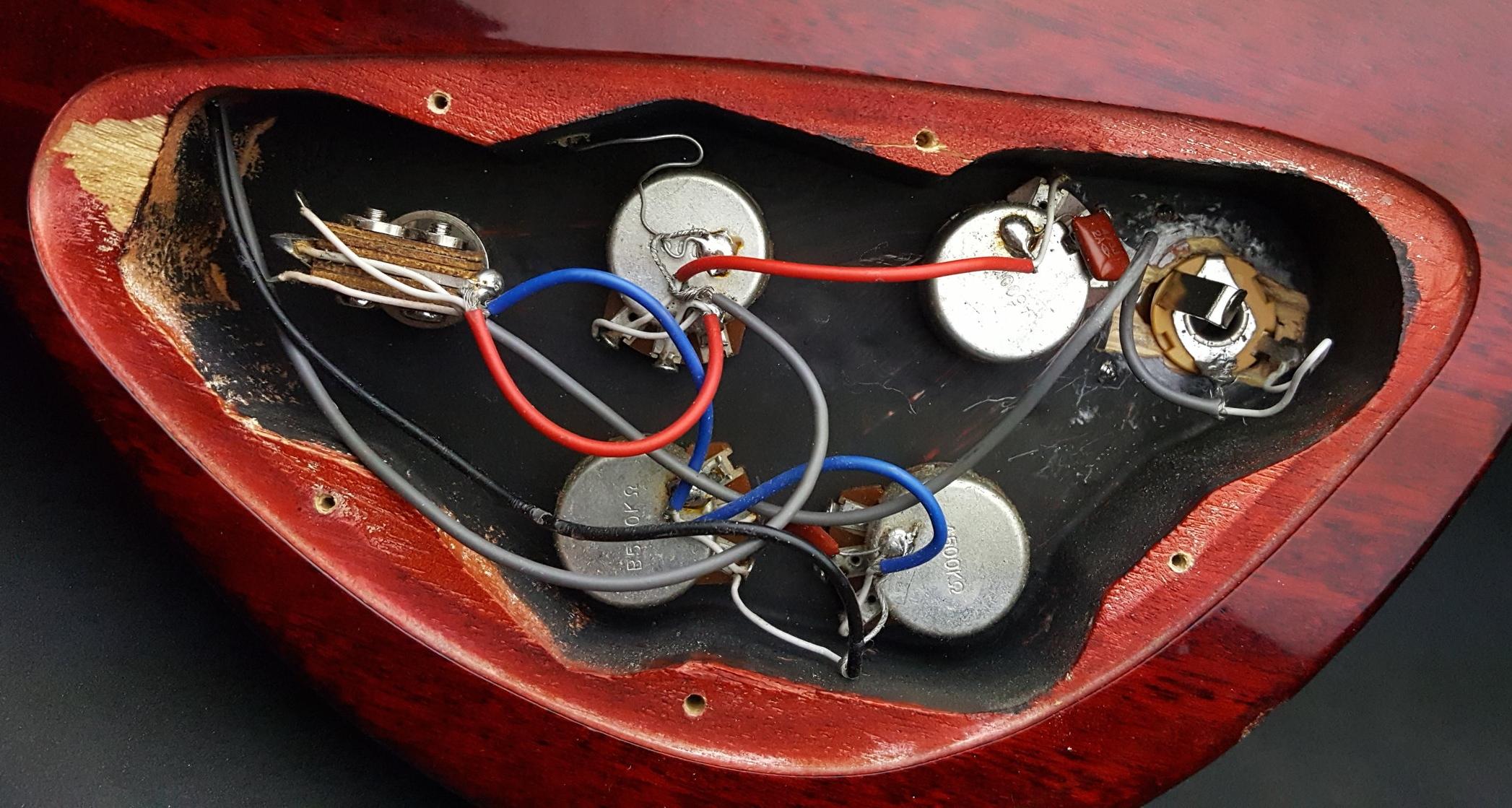 Gibson Les Paul 50 S Wiring Vs Modern