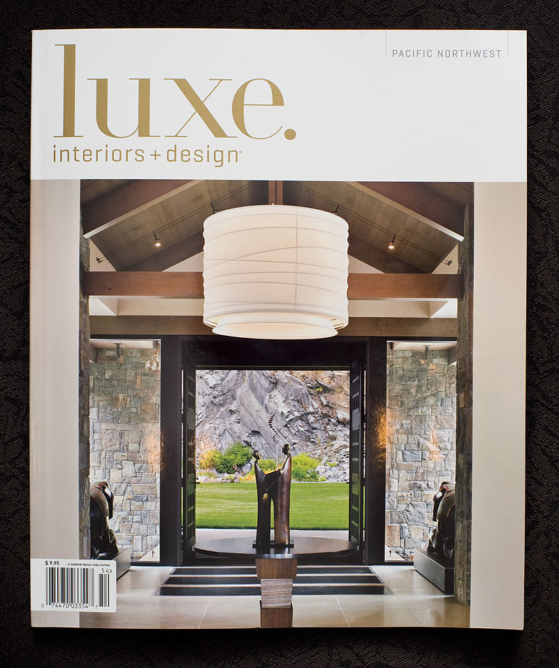 Fall 2010 Issue Of Luxe Interiors Design Magazine