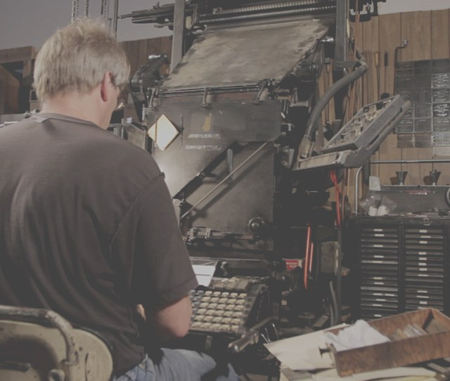 Linotype The Film Is A Feature Length Documentary Centered Around The Linotype Type Casting Machine That Was Released In 2012 Called The Eighth Wonder Of