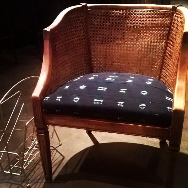 mid century modern cane barrel chairs grosfillex madras lounge back kz12 advancedmassagebysara well known midcentury w indigo mudcloth cedar cotton kw95