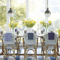 Bistro Chairs Dining Room Best Chair Post Back Surgery Where To Find The Woven Coastal Collective Co Riviera Side Gorgeous