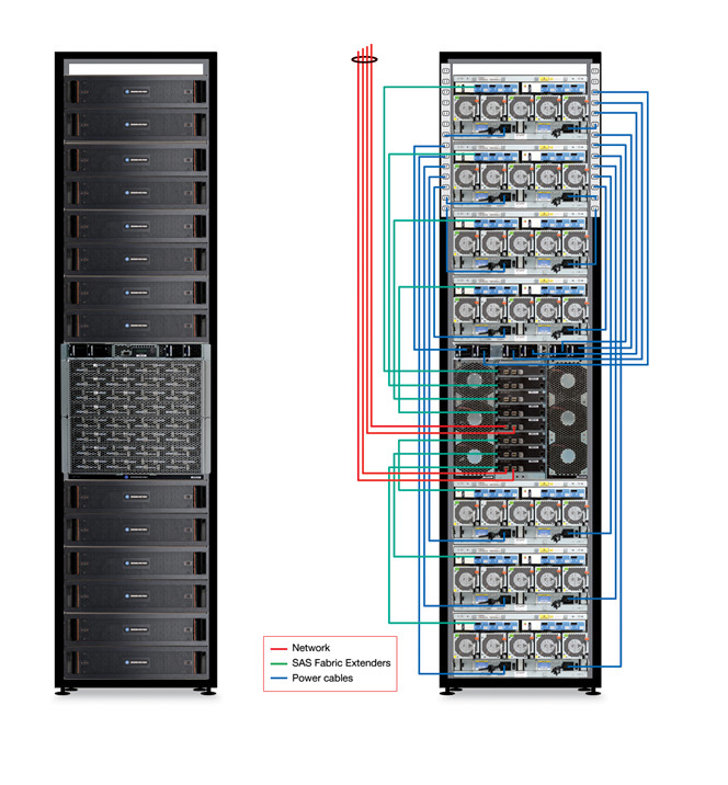 server rack wiring diagram aav vent installation project process mila front of view and jpg