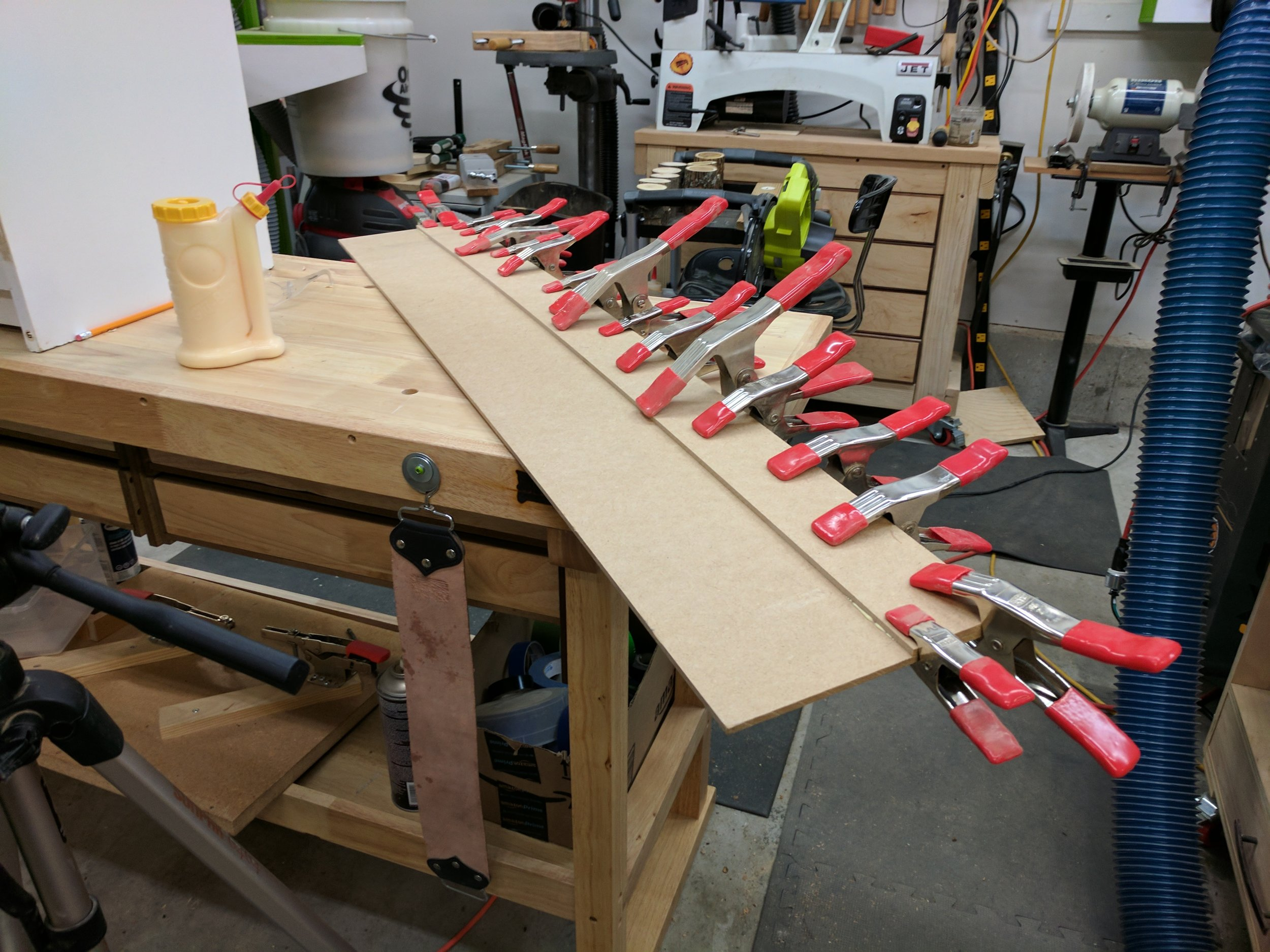 Diy Track Saw Clamps