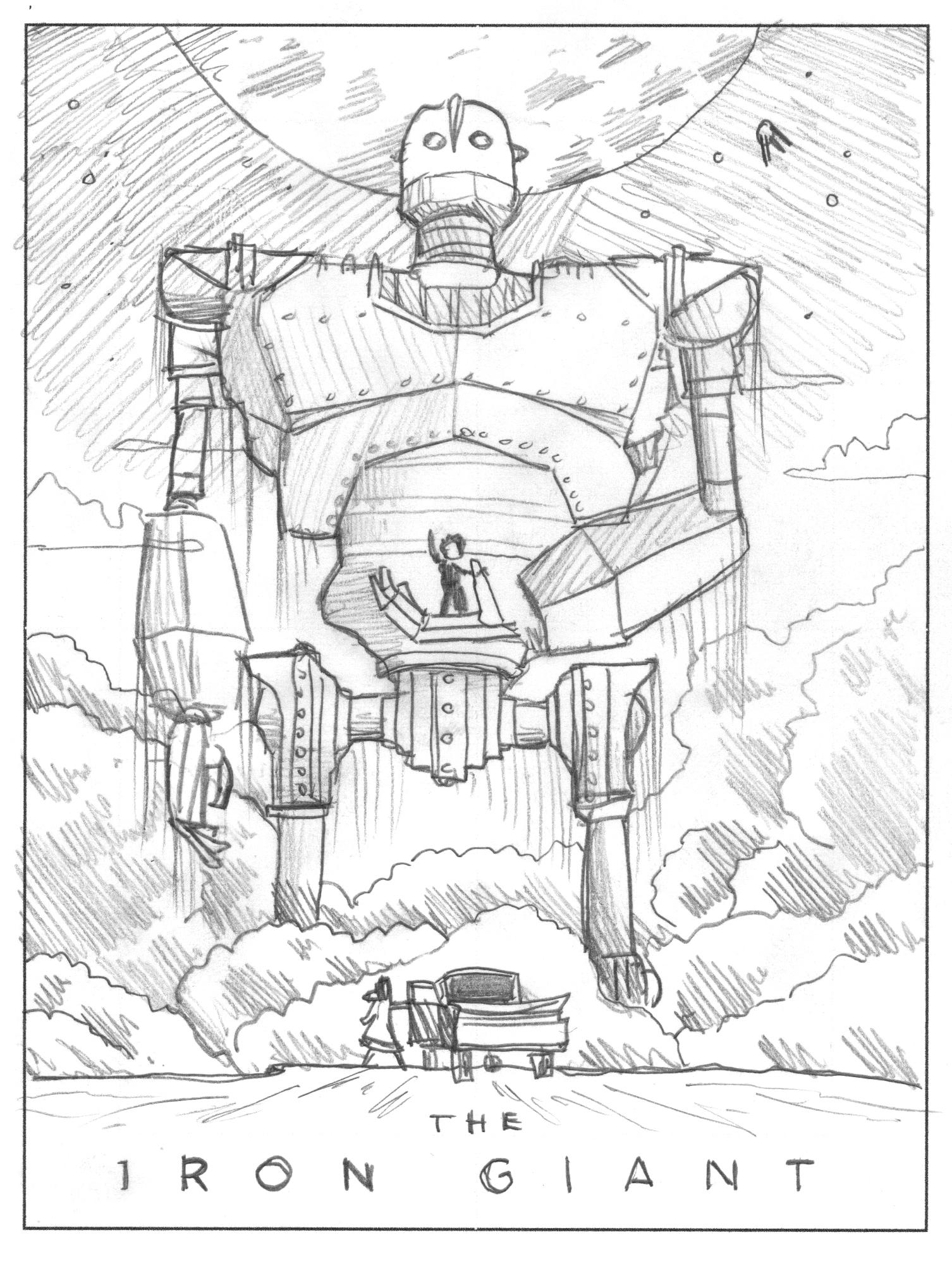 The Iron Giant Mondo Art Print — DKNG