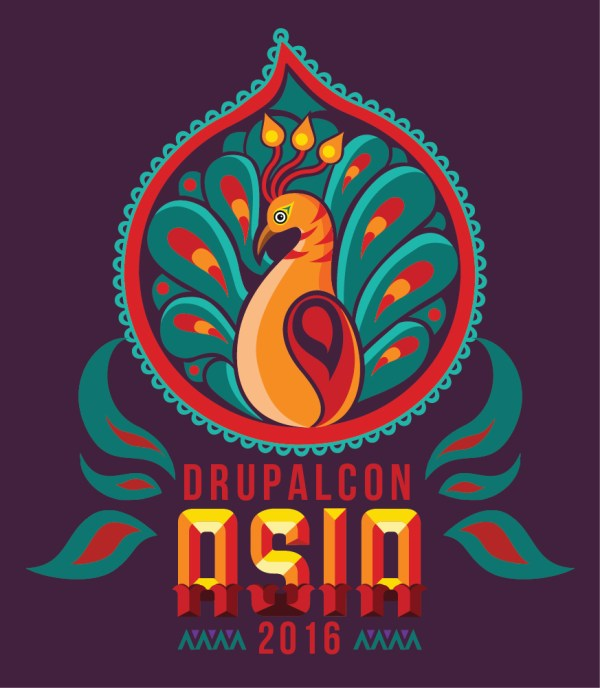 Drupalcon Asia 2016 Mumbai - Logo 9cube