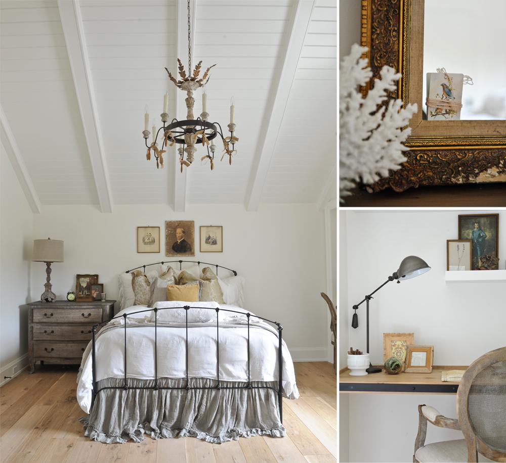french farmhouse bedroom decor Savvy Southern Style : French Farmhouse Bedroom Style