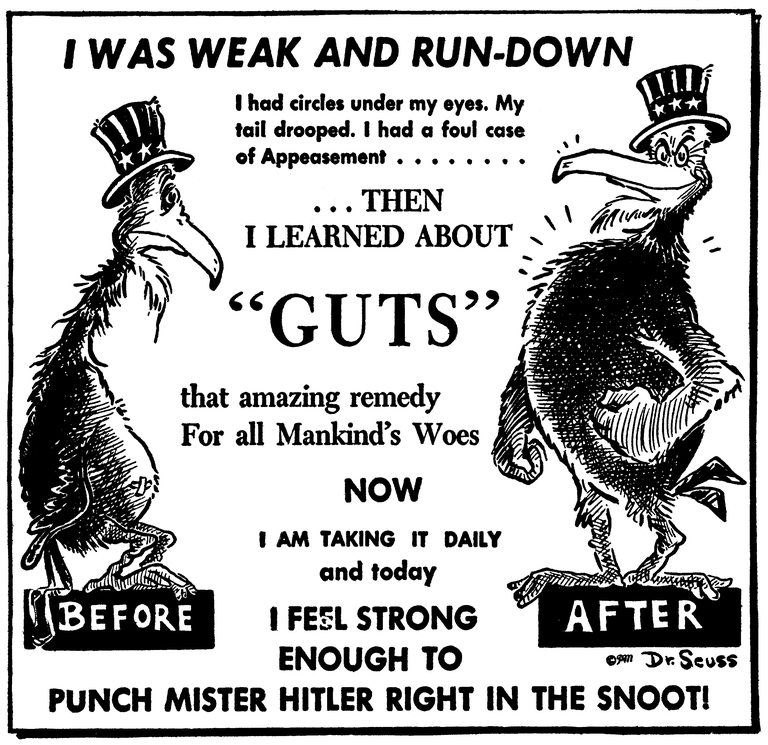 Dr. Seuss and the Four Freedoms — Franklin D. Roosevelt