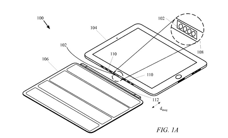 Future Smart Cases could attach to an iPad via a power