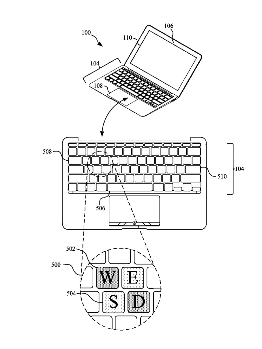 Future Mac laptops could have a 'multiple backlit keyboard