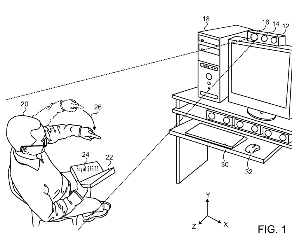 Apple's adaptive projector patent mentions smart glasses