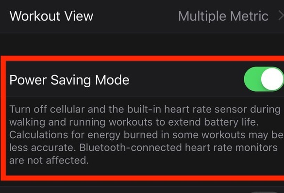 Power+Saving+Mode How to use Power Saving Mode on an Apple Watch during workouts Apple