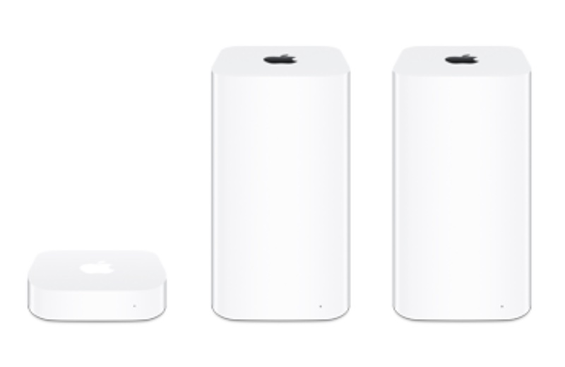AirPort+line-up R.I.P. Apple's AirPort Wireless Router line Apple