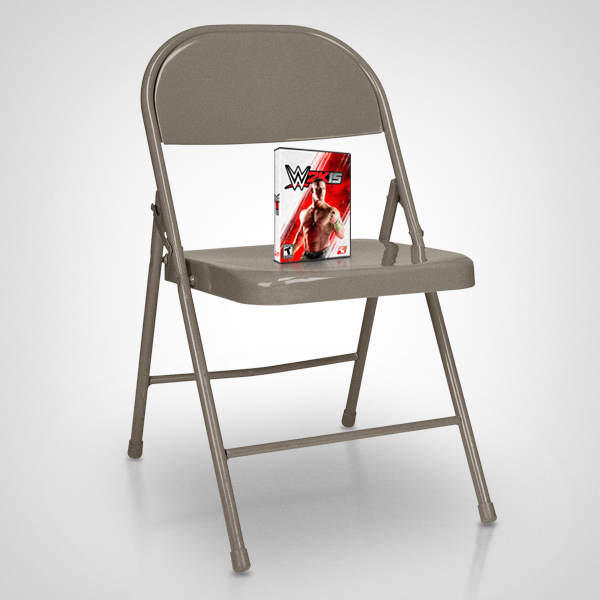 steel chair in wwe cheap covers auckland 2k metal folding pack brad phifer copywriter