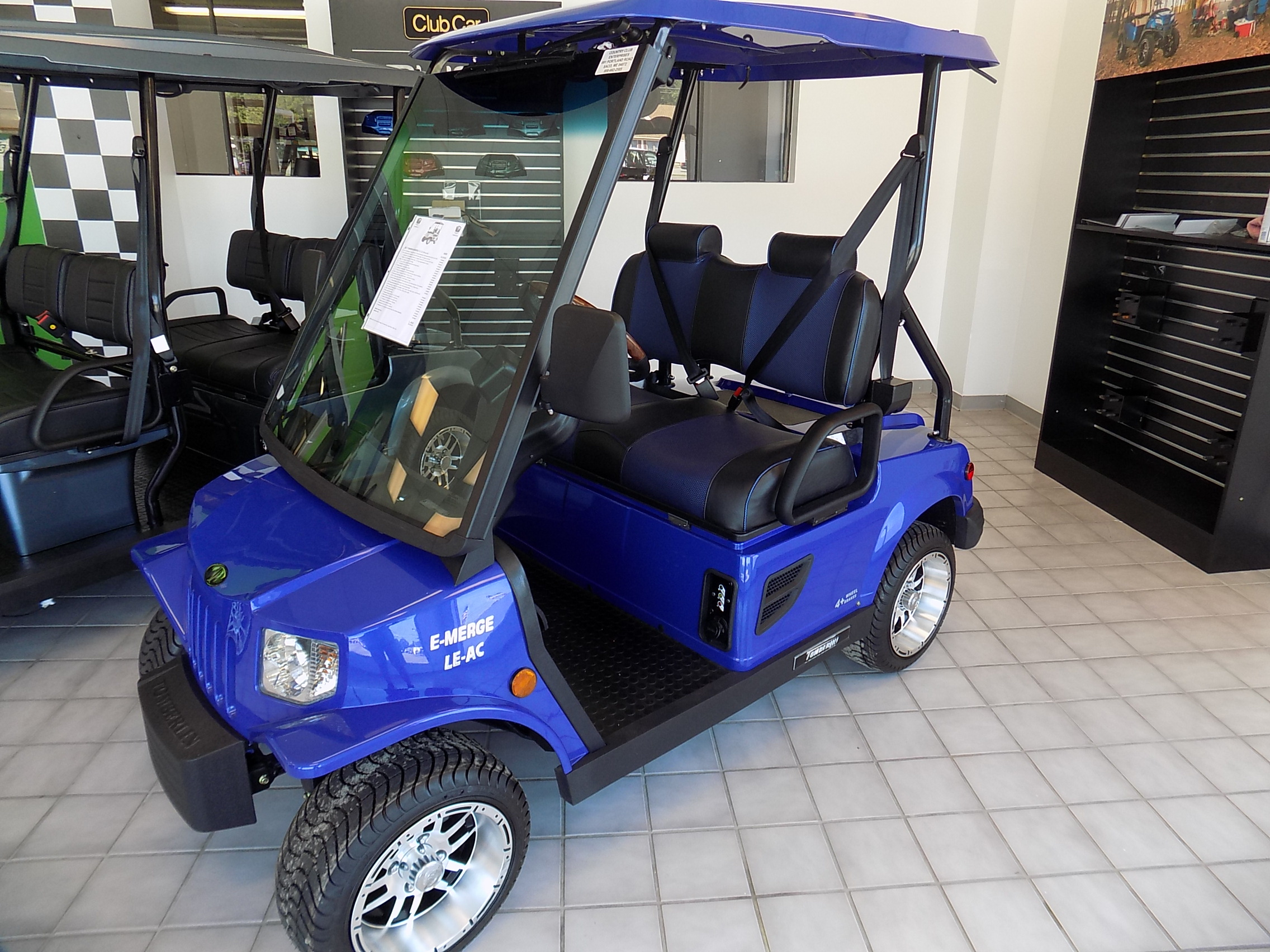 medium resolution of new 2017 street legal tomberlin emerge e2 le lsv with full new car warranty cce golf cars