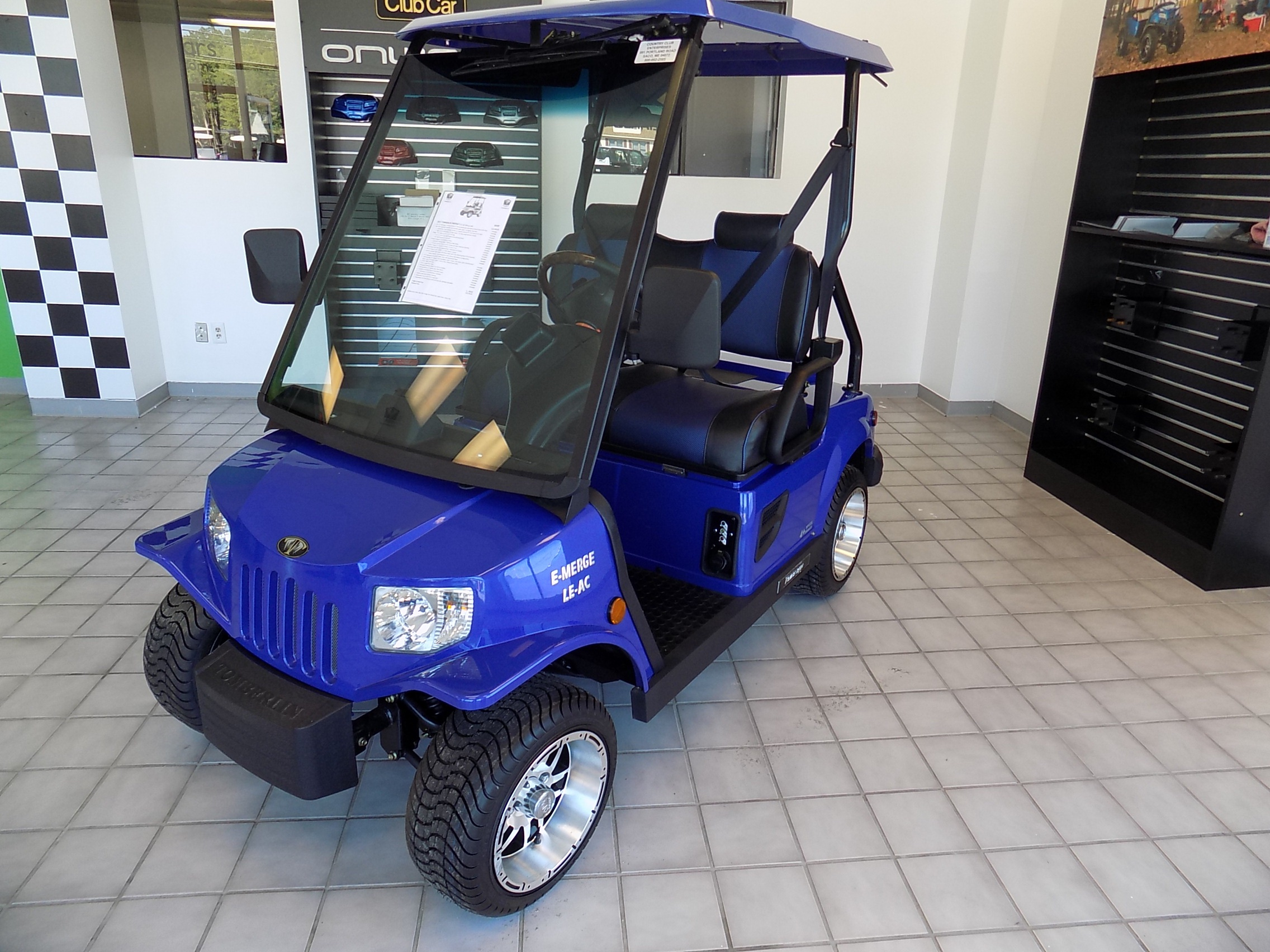 small resolution of new 2017 street legal tomberlin emerge e2 le lsv with full new car warranty