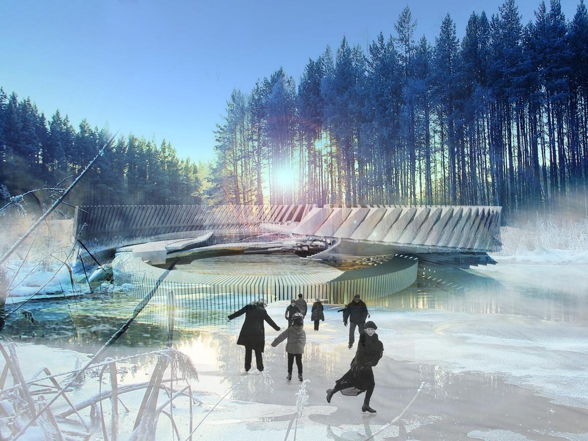 medium resolution of photovoltaic ice skating rink