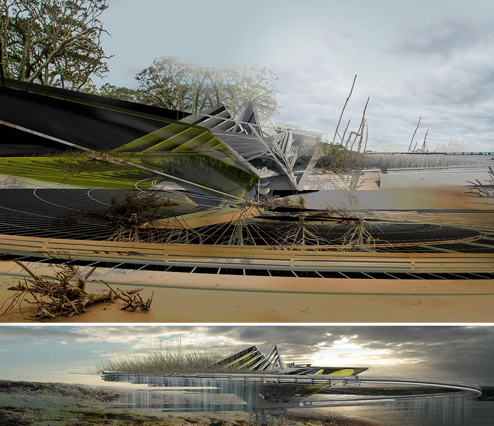 self excavation hurricane house [ 1000 x 862 Pixel ]