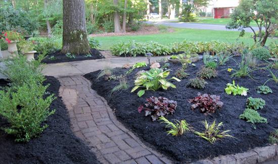 creating jewelbox entry garden