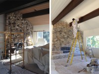 Before And After: Painted Ceiling  COCOON HOME