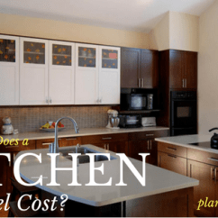 Kitchen Remodel Cost Refurbished Appliances Wholesalers How Much Does A Forward Design Build