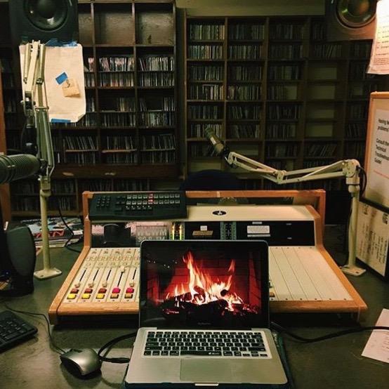 WCWM Station by Caroline Creasey, @flairoline