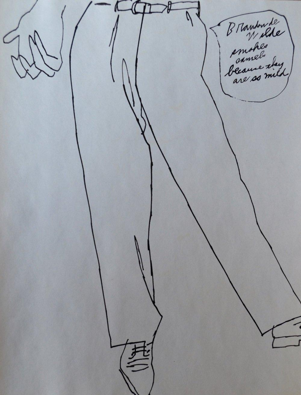 medium resolution of andy warhol lower torso