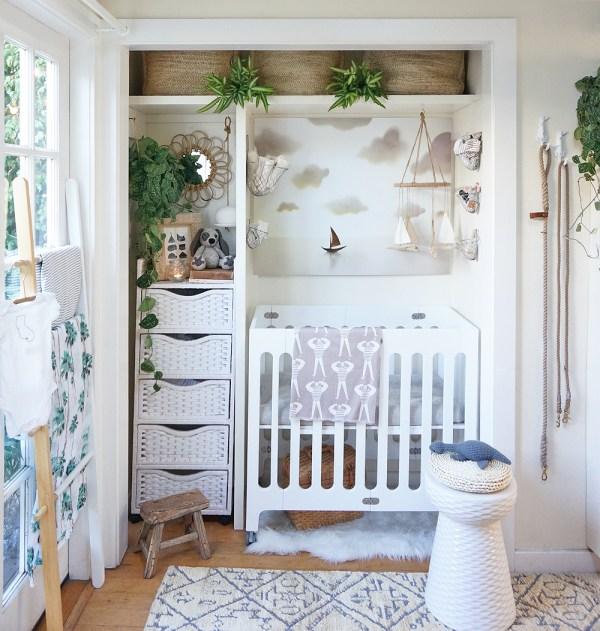 Small Space Baby Nursery