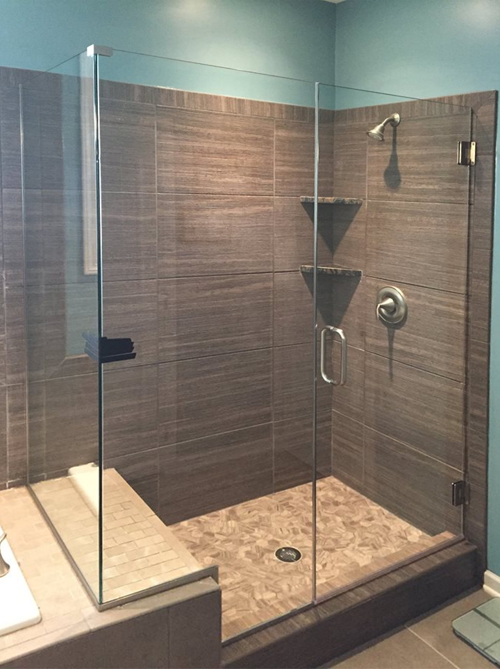 Glass Shower Doors  Elite Glass Services