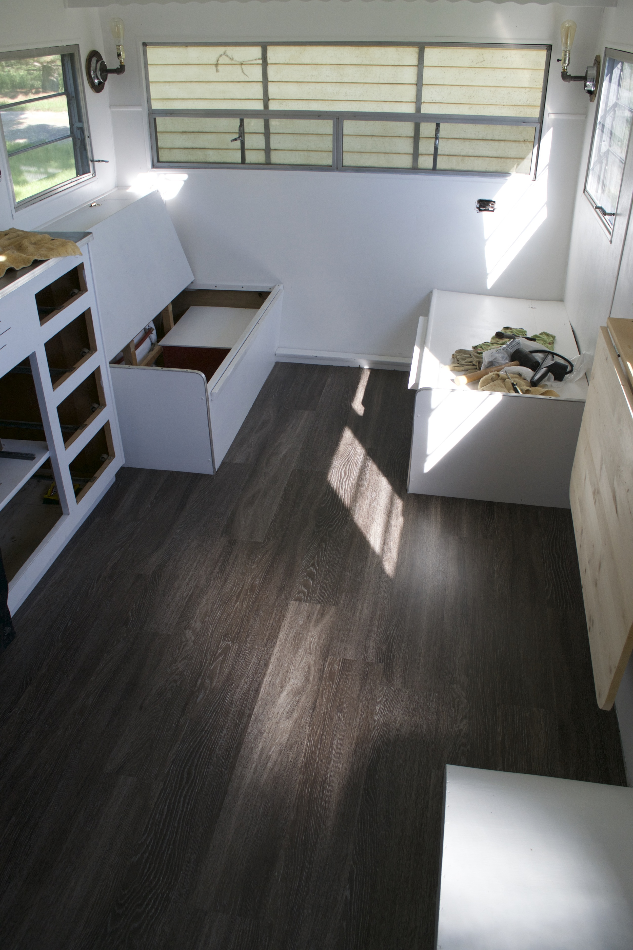 Reasons to Install Vinyl Plank Flooring in your Trailer or RV  Local Color XC