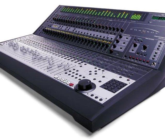Digidesign Avid Pro Tools Used Control 24 Surface Jpeg