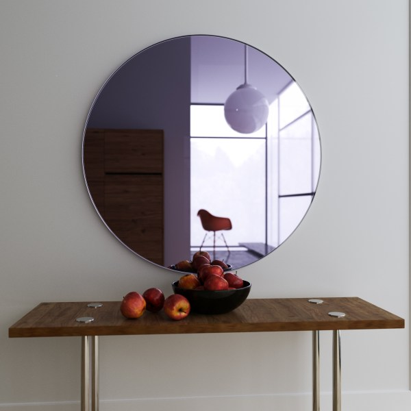 Round Mirror Wall Hanging