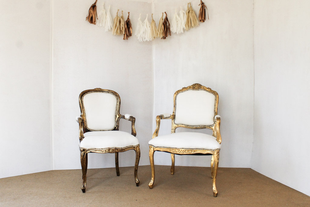 white and gold chair dental for sale southern vintagesweetheart vintage setswhite set grace ranier