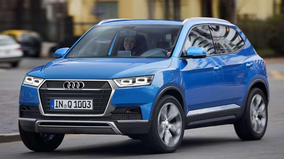 El Audi Q1 se presentará el año que viene y se basaría en el Prologue Concept.