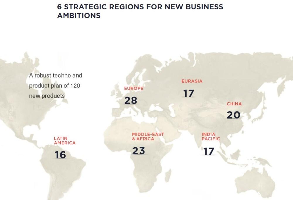 La cantidad de lanzamientos dependerá de la región.